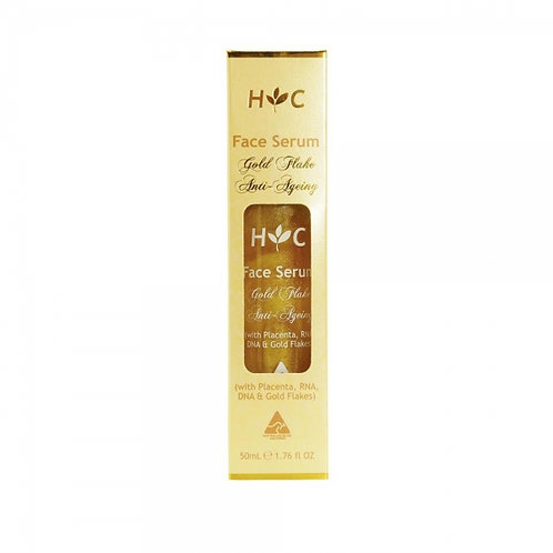 Healthy Care Face Serum 24K Gold Flake 50ml 羊胎素24k黃金箔面部精華液