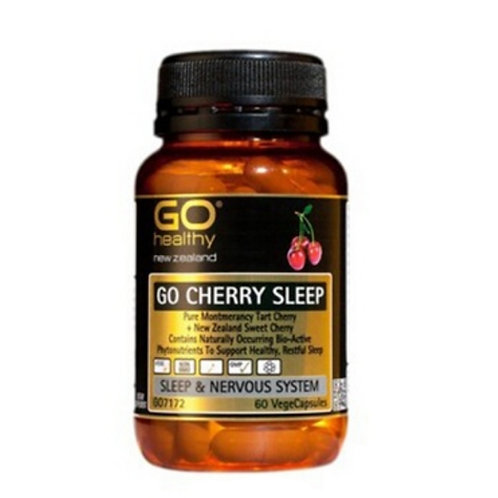 Go Healthy Go Cherry Sleep 60c  櫻桃睡眠膠囊60粒