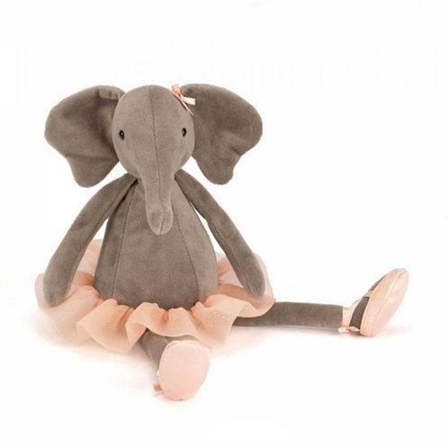 Jellycat Dancing Darcey 芭蕾小象 33cm