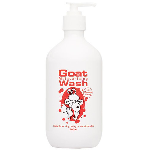 Goat Wash Manuka Honey 500ml 山羊奶麥蘆卡蜂蜜沐浴露