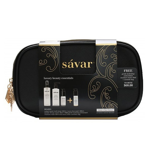 Savar Luxury Beauty Essentials Set (3+1)