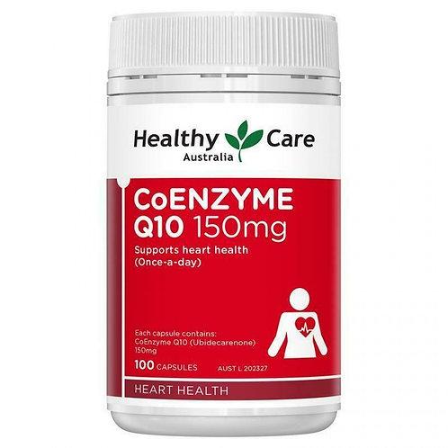Healthy Care CoENZYME Q10 150mg 100c 輔酶Q10膠囊 150mg 100粒