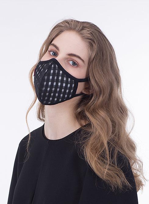 Meo KN95 Lite Mask - Checker (10 Filters) 成人輕便防護口罩 - 格仔花紋 (10濾芯)