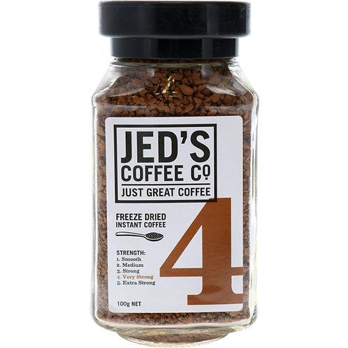 Jed's Coffee Co Instant Coffee Freeze Dried #4 100g 香濃即溶咖啡#4 100g