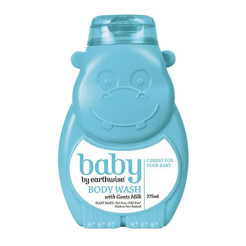 Earthwise Goat Milk Baby Body Wash 275ml 嬰兒羊奶沐浴露