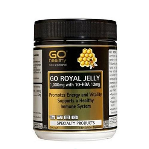 Go Healthy Go Royal Jelly 1000mg 180c 天然蜂王漿膠囊1000mg 180粒