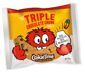 Cookie Time Triple Chocolate Chunk Cookie 85g 三倍朱古力曲奇餅