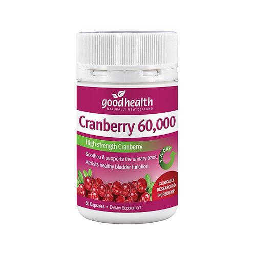 Good Health Cranberry 60,000mg 50 capsules 高含量蔓越莓60,000毫克 50粒
