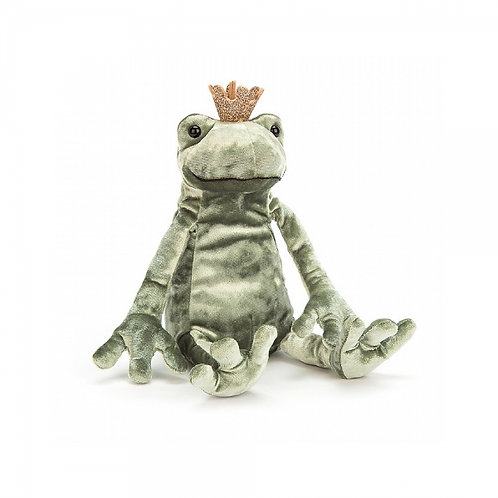 Jellycat Prince Frog 20cm 青蛙王子