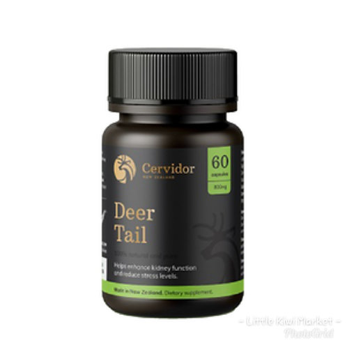 Cervidor Deer Tail 800mg 60c 鹿尾膠囊60粒