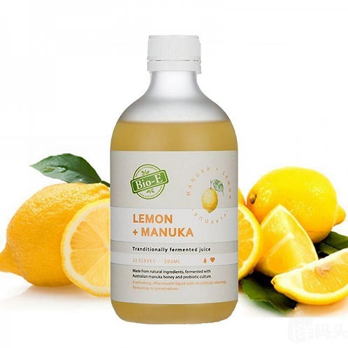 Bio-E Lemon & Manuka Honey 500ml 檸檬酵素+麥蘆卡蜂蜜