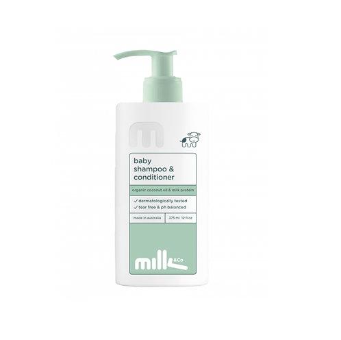 Milk&Co Baby Shampoo & Conditioner 375ml 嬰兒洗髮護髮二合一