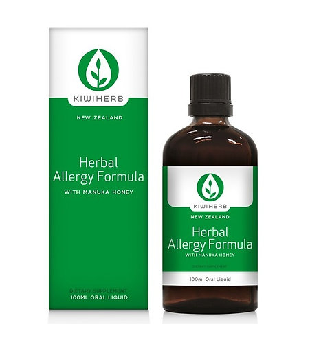 Kiwiherb Herbal Allergy Formula 100ml 草藥過敏配方 治療過敏