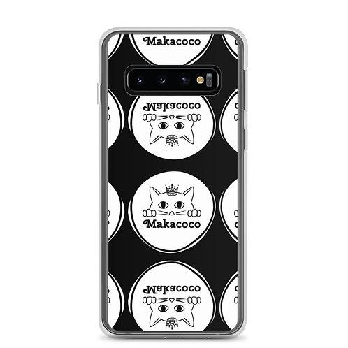 Makacoco Samsung Case - Black full print