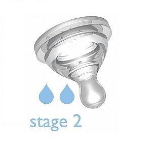 B.Box Anti Colic Teats 2 Pack - Stage 2 防脹氣奶嘴x2個 2段 3-6個月