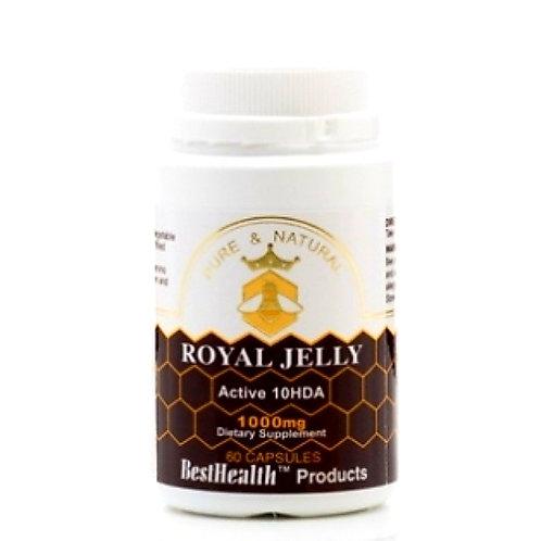 Best Health Royal Jelly 1000mg 60c 蜂皇漿60粒