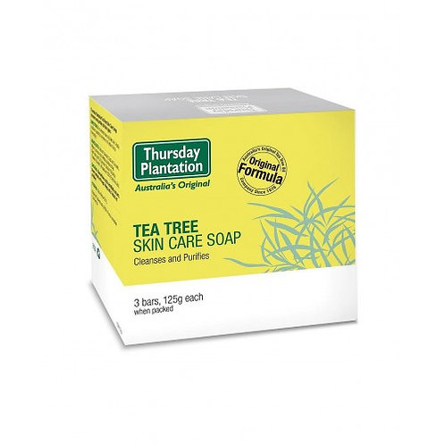 Thursday Plantation Tea Tree Soap 125g*3 茶樹油香皂