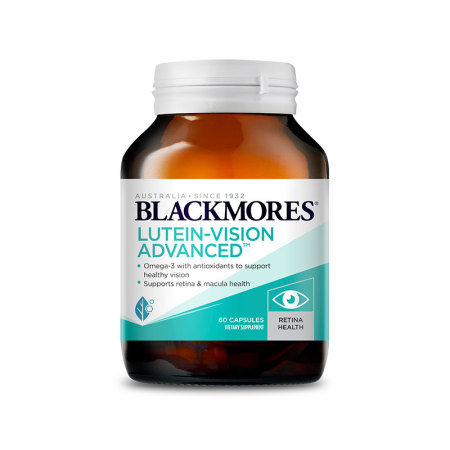 Blackmores Lutein-Vision Advanced 60 capsules 葉黃素護眼膠囊 高級版 60粒
