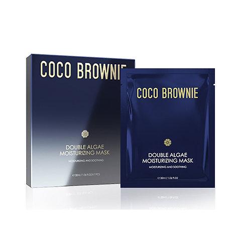 Coco Brownie Double Algae Moisturizing Mask 30ml*7pc 雙藻精粹面膜30ml * 7片