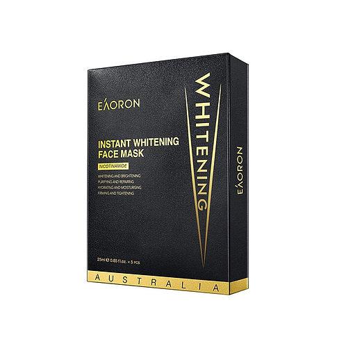 [2 Boxes] Eaoron Instant Whitening Face Mask 5pc 美白黑面膜5片 5片裝 (2盒)