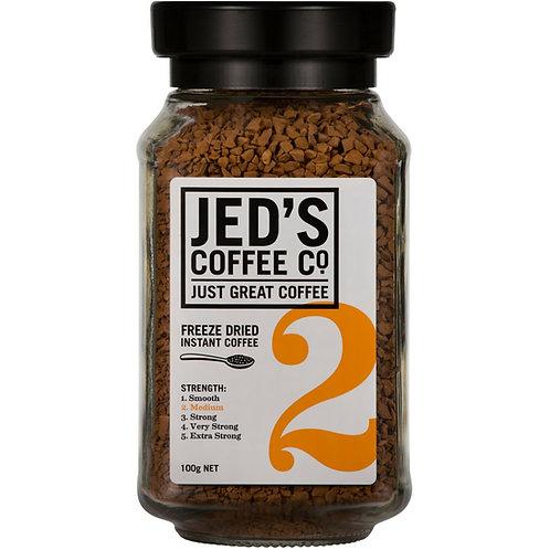 Jed's Coffee Co Instant Coffee Freeze Dried #2 100g 香濃即溶咖啡#2 100g