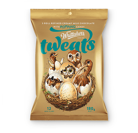 Whittakers Tweats mini slabs (12pcs/180g)