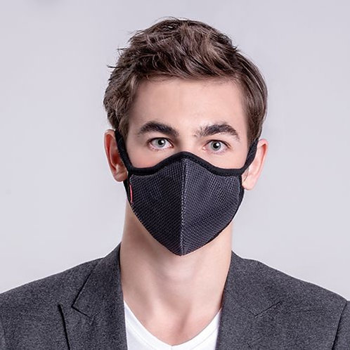 Meo KN95 Lite Mask - Grey (10 Filters) 成人輕便防護口罩 灰色 (10滤芯)