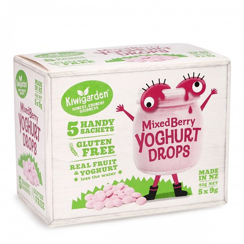 Kiwigarden Yoghurt Drops Mixed Berry 45g 混合莓果味酸奶糖溶豆