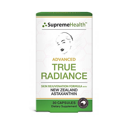 Supreme Health Advanced True Radiance 30 capsules 天然蝦青素 煥彩美白膠囊 30粒