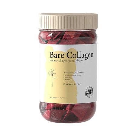 Bio-E Bare Collagen Gummy Bears 60s 小熊軟糖膠原蛋白軟糖玫瑰味 60粒