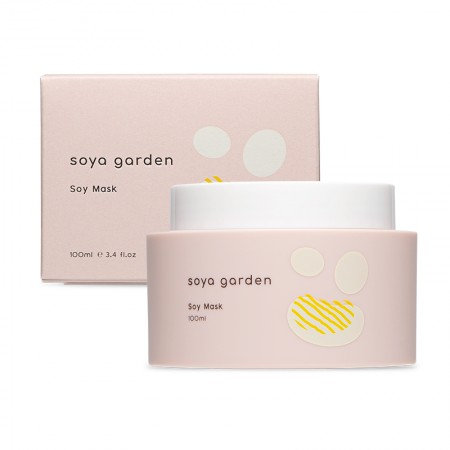 Soya Garden Soy Mask 100ml 全效豆乳面膜