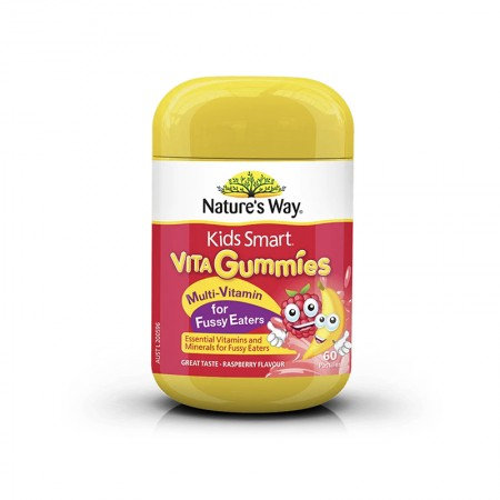 Nature's Way Multi-Vitamin for Fussy Eater 60c 兒童多元維他命軟糖 挑食者 60粒 60粒