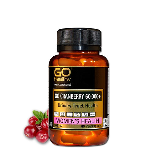Go Healthy Go Cranberry 60000+ 60capsules 蔓越莓膠囊高含量60000mg 60粒
