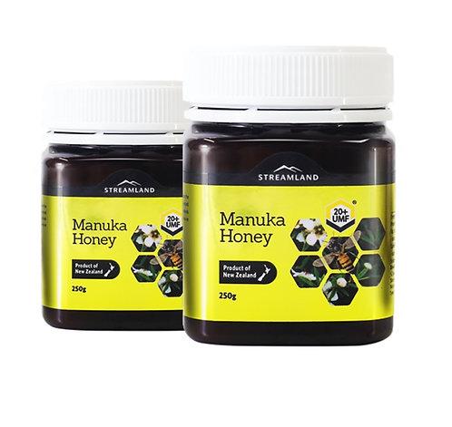 Streamland Manuka Honey UMF20+ 250g 麥蘆卡蜂蜜