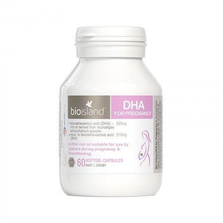Bioisland DHA for Pregnancy 60s 孕婦專用DHA60粒
