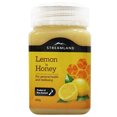 Streamland Lemon Honey 500g 檸檬蜂蜜