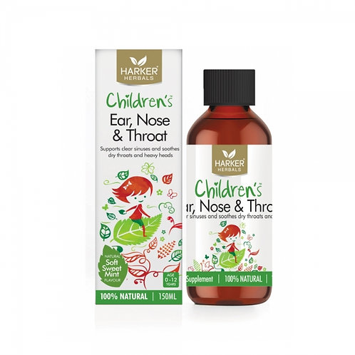 Harker Herbals Children's Ear, Nose & Throat 150ml 兒童耳鼻喉舒緩液
