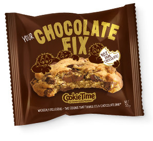 Cookie Time 40% Chocolate Fix Cookie 55g 黑朱古力曲奇餅