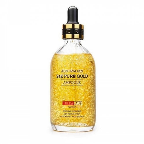 Thera Lady Australian 24K Pure Gold Ampoule 100ml 24K納米黃金精華液 大金瓶
