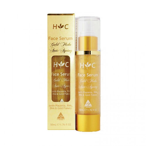 Healthy Care Face Serum 24K Gold Flake 50ml 羊胎素24k黃金箔面部精華液