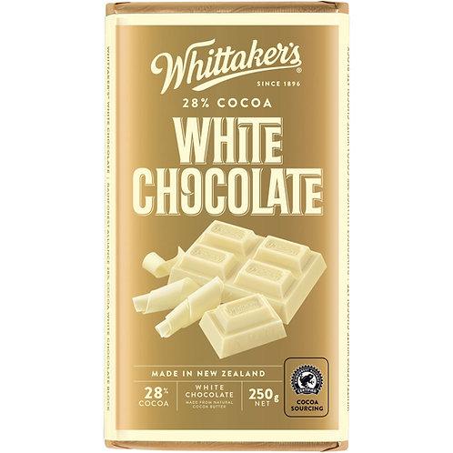 Whittakers White Block 250g 香滑白朱古力