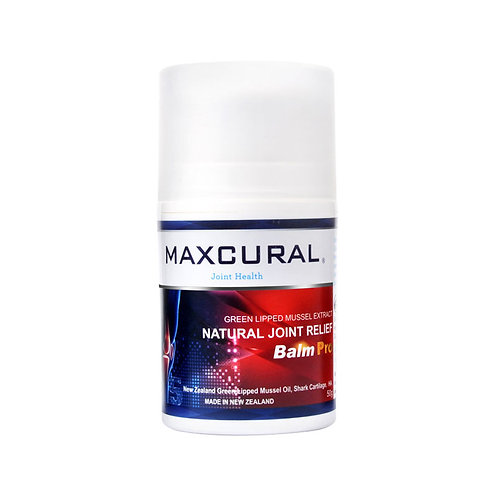 Maxcural Natural Joint Relief Balm Pro 50g 白金版關節膏50g