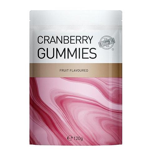 Bio-E Cranberry Gummies 120g 蔓越莓軟糖水果味