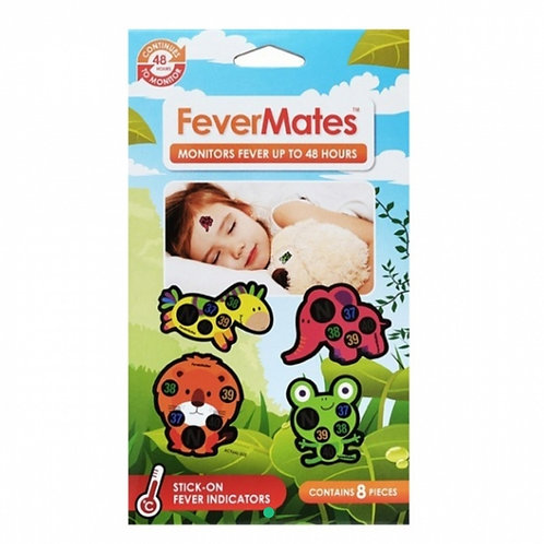 Fevermates - Monitors Fever Stickers 8pcs 發燒度數顯示貼紙8個