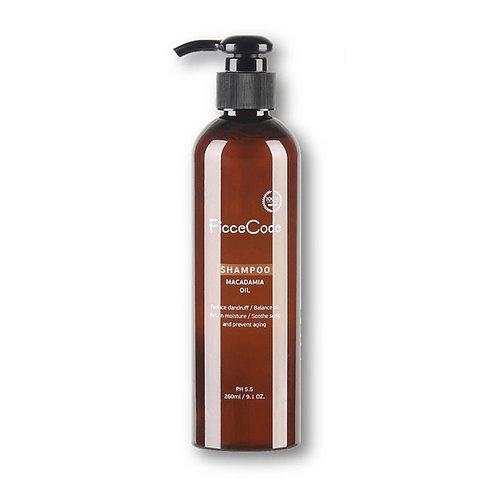 Ficcecode Macadamia Oil Shampoo 260ml 堅果油洗髮水 防脫護髮