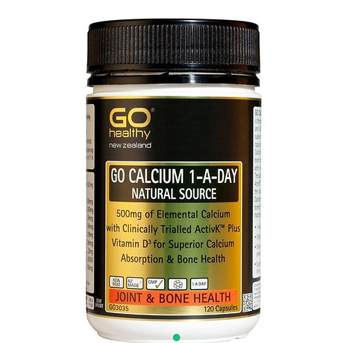 Go Healthy Calcium 1-A-Day 120c 高鈣膠囊
