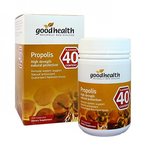 Good Health Propolis PFL40 200c 好健康高含量黄酮40蜂膠囊200粒