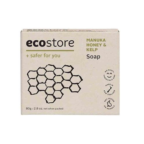 Ecostore Manuka Honey & Kelp Soap 80g 纯天然麥盧卡蜂蜜海帶香皂