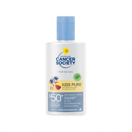 NZ Cancer Society Kids Everyday Sunscreen Lotion SPF50+ 200ml 兒童防曬乳液SPF50 +