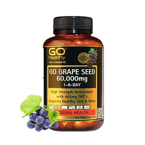 Go Healthy Go Grape Seed 60,000mg 120c 高之源 葡萄籽 60000mg 120粒